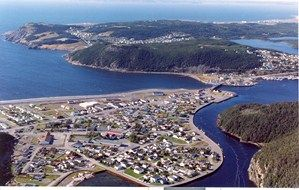 Aerial view of Placentia Area